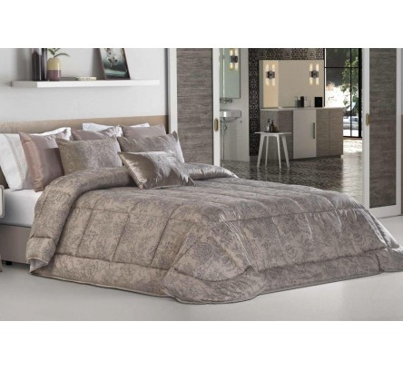 Покрывало, 2 подушки LEIPER арт. Rodes taupe 250x270